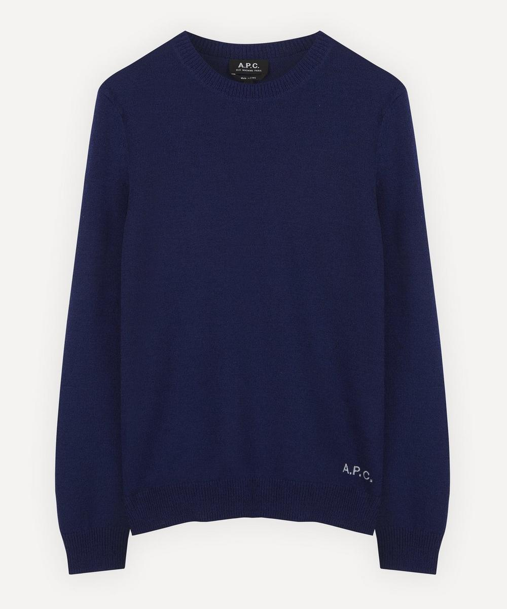 A.P.C. - Kit Logo Embroidered Jumper