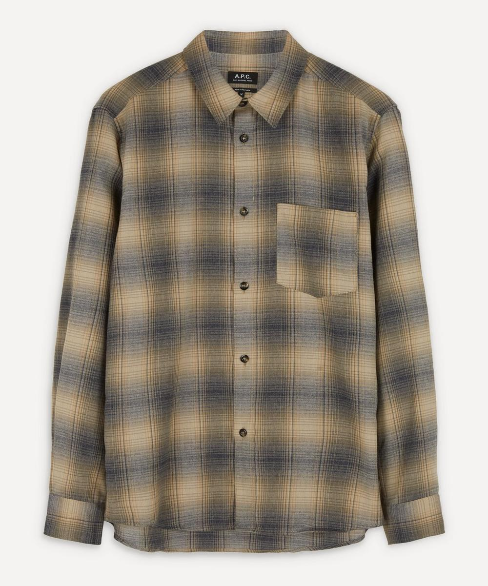 A.P.C. - John Checked Flannel Overshirt