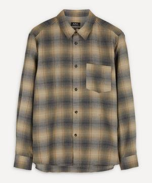 John Checked Flannel Overshirt