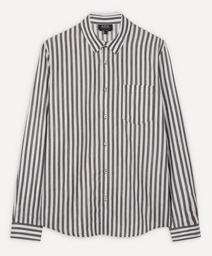 Anthon Stripe Cotton Shirt