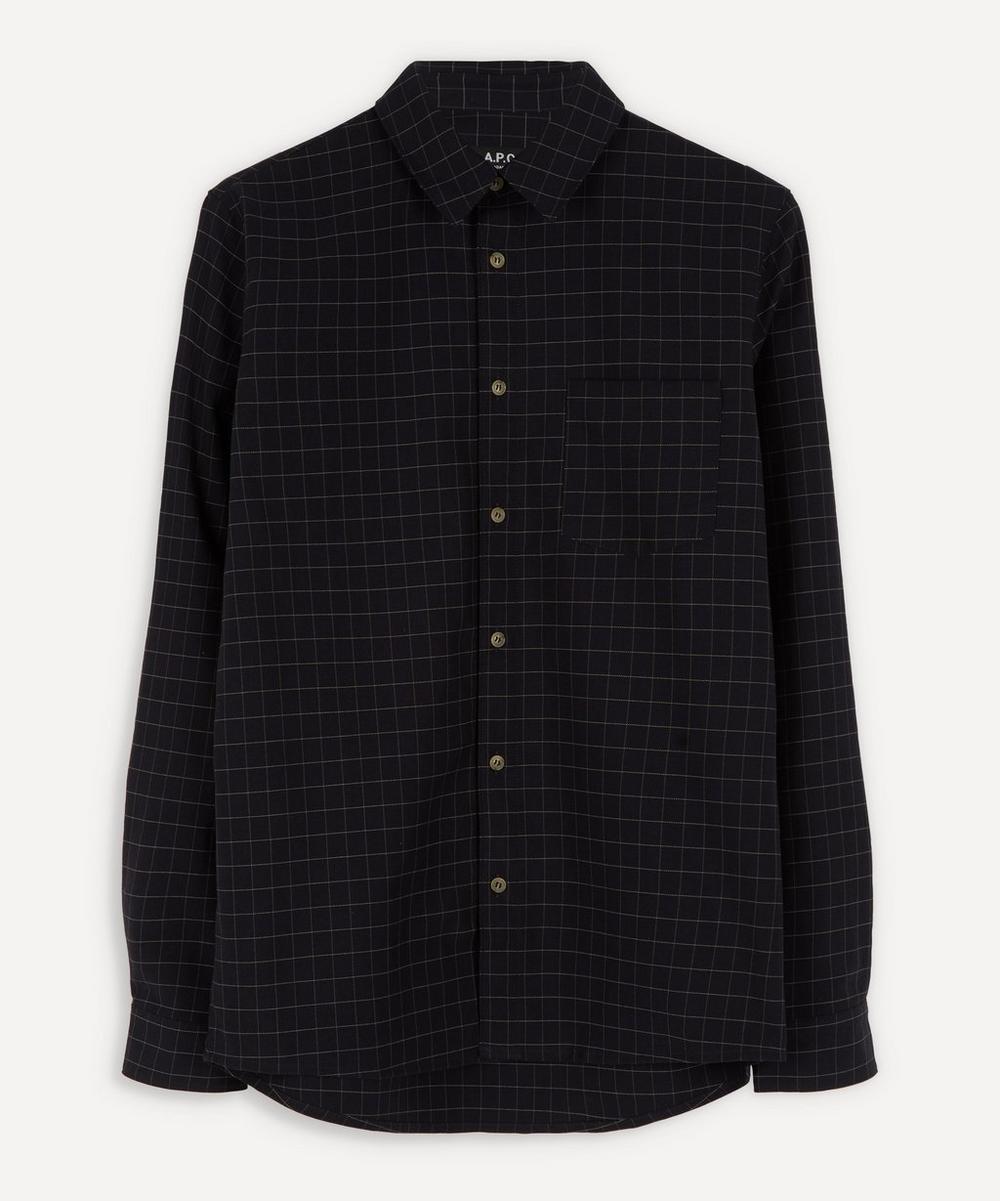 A.P.C. - Vico Boxy Check Shirt