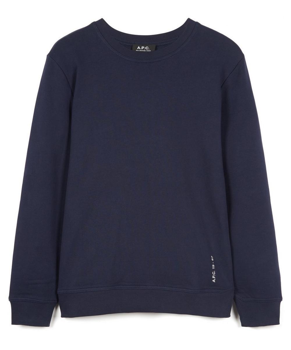 A.P.C. - Armand Logo Sweater