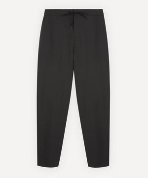 Etienne Fine-Stripe Drawstring Trousers