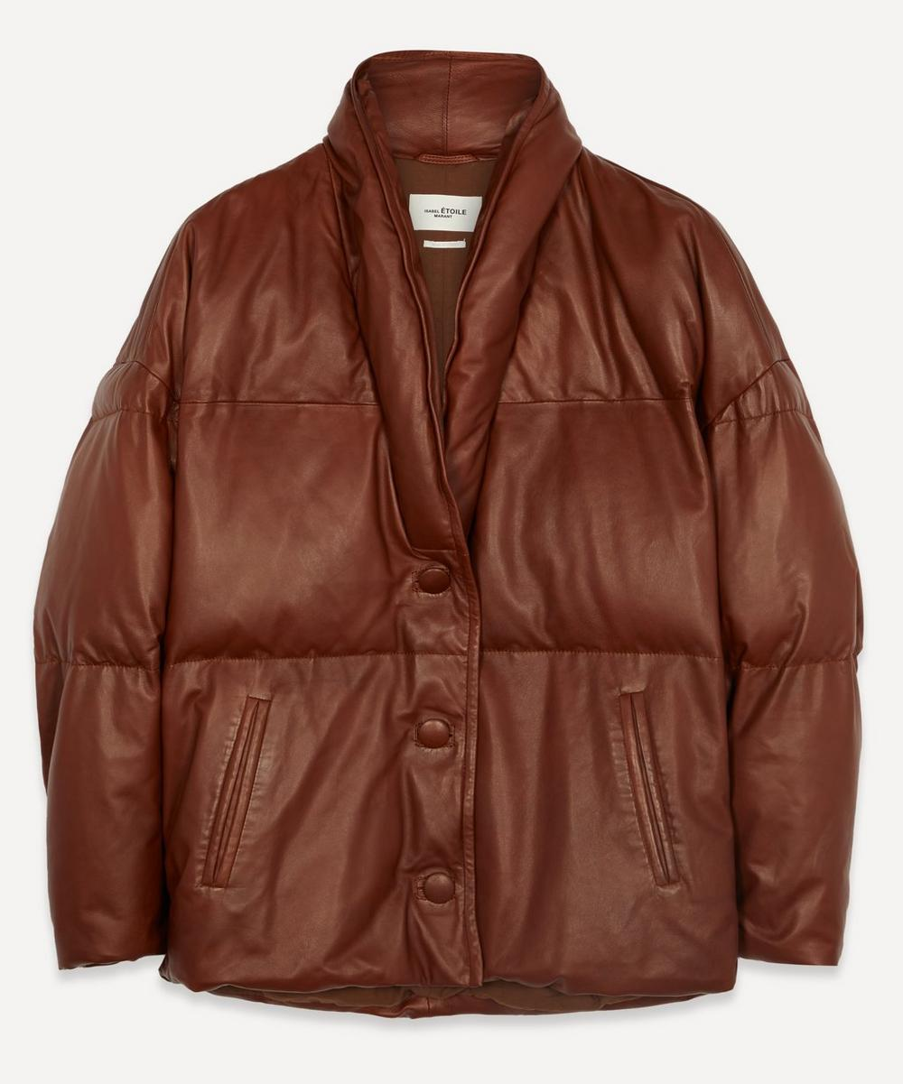 Isabel Marant Étoile - Carterae Leather Puffer Jacket