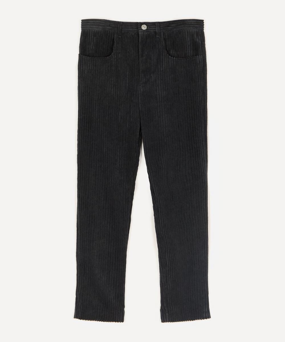 Isabel Marant Étoile - Beldenae Velvet Straight-Cut Trousers