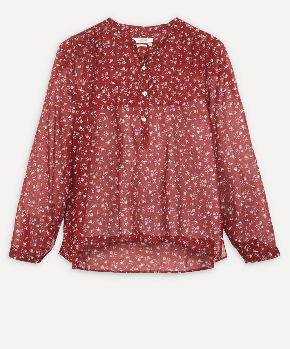 Isabel Marant Étoile - Maria Printed Cotton Blouse
