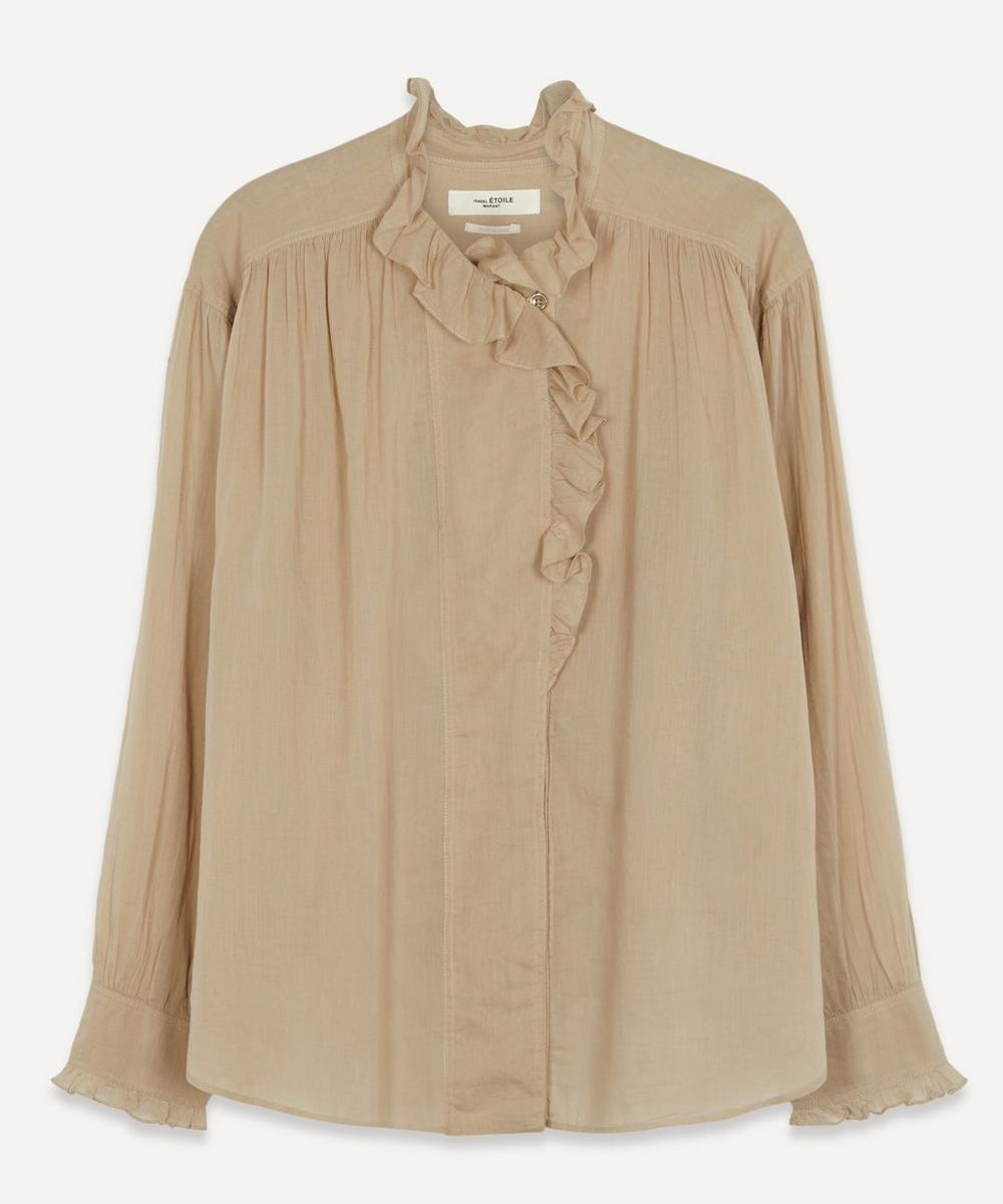 Isabel Marant Étoile - Pamia Ruffle High-Neck Top