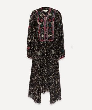 Inesia Embroidered Georgette Dress