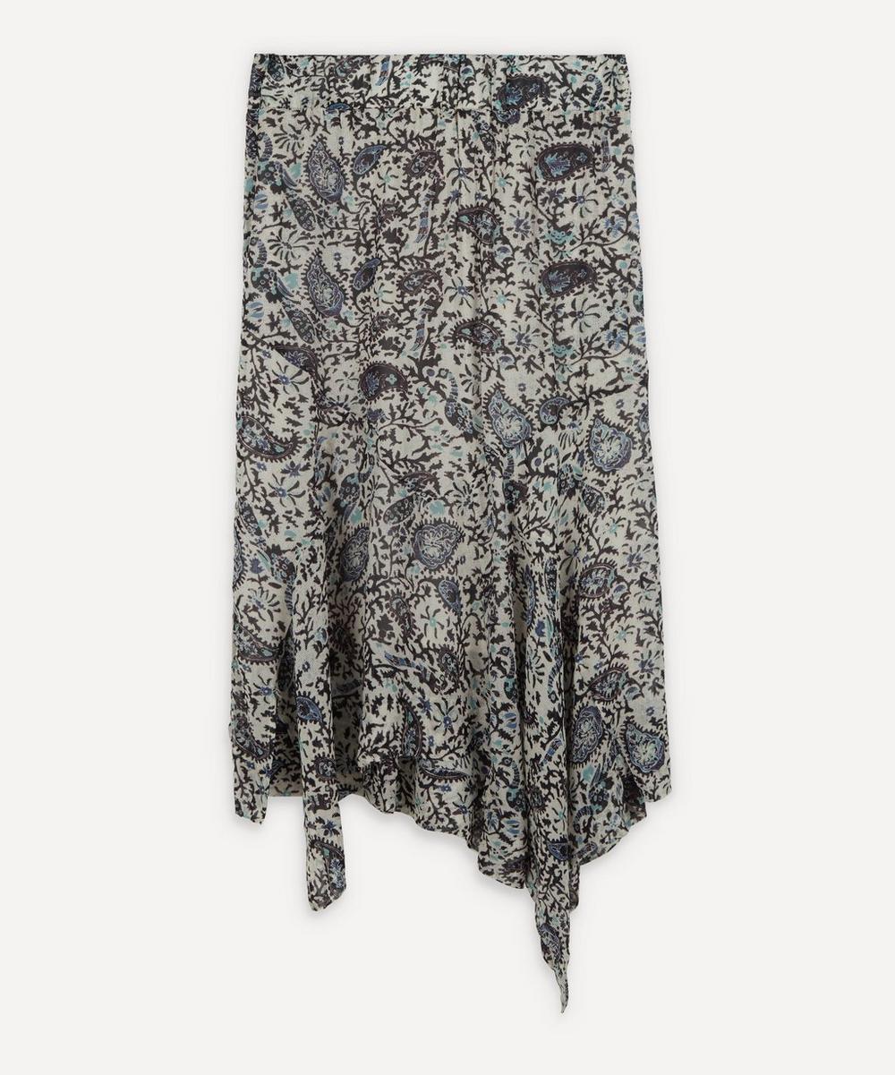 Isabel Marant Étoile - Eda Printed Midi-Skirt