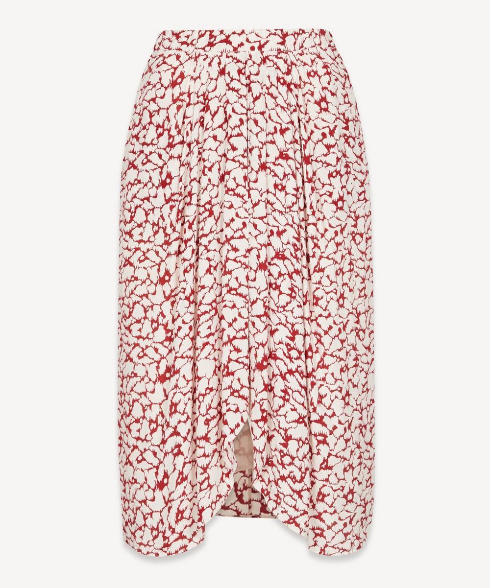 Isabel Marant Étoile - Siasi Printed Georgette Midi-Skirt