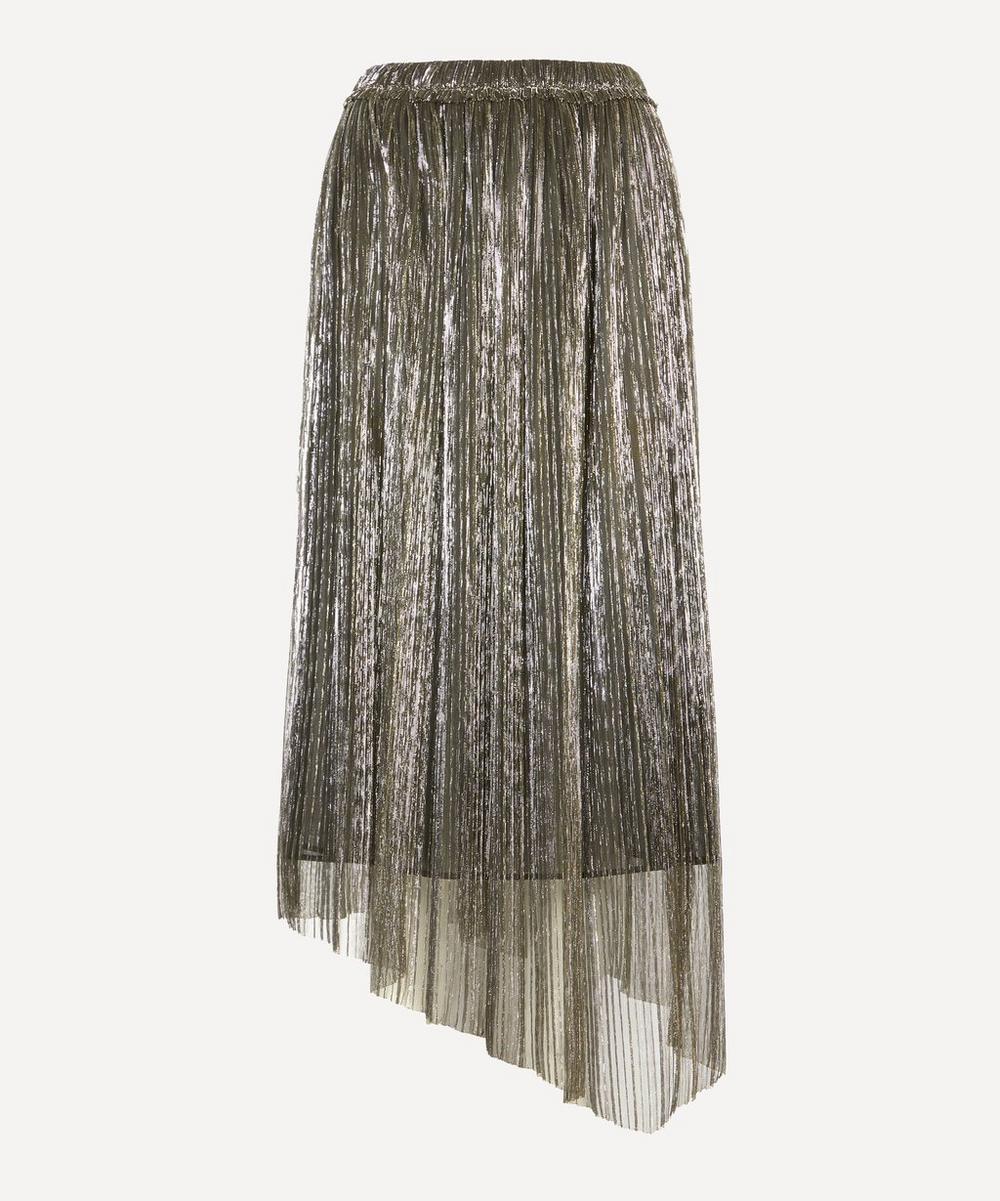 Isabel Marant Étoile - Dolmenae Metallic Pleated Skirt