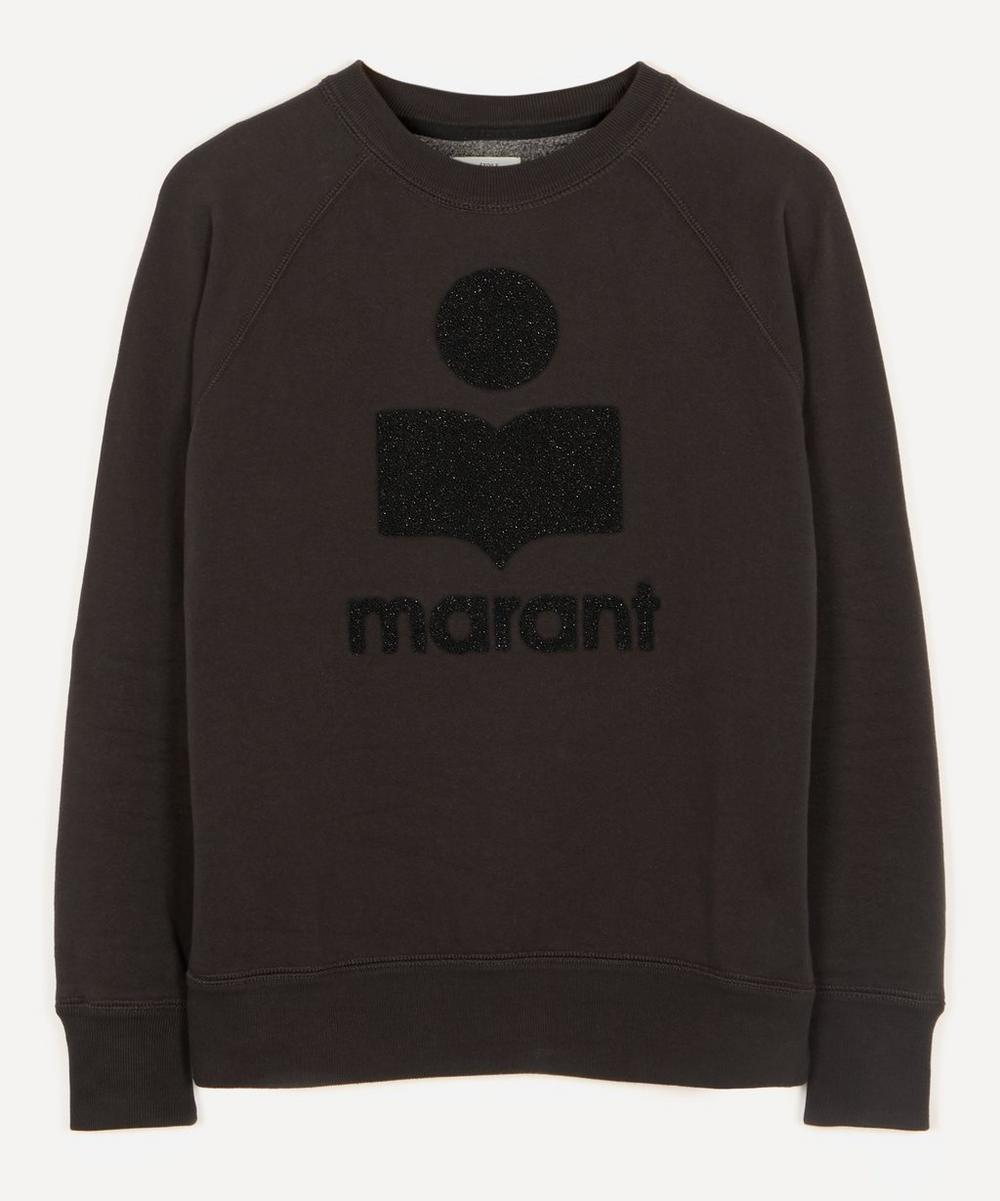 Isabel Marant Étoile - Milly Lurex Logo Sweater