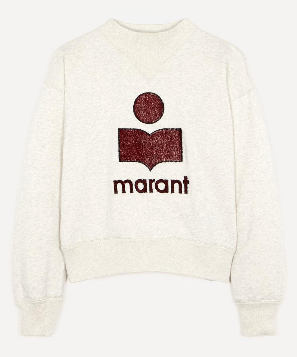 Isabel Marant Étoile - Moby Cotton-Blend Logo Sweatshirt