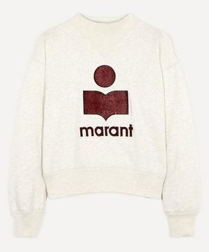 Moby Cotton-Blend Logo Sweatshirt