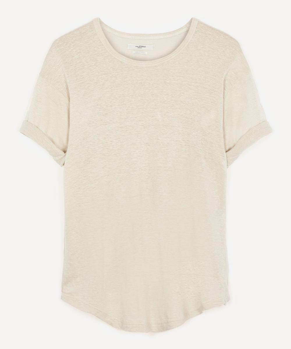 Isabel Marant Étoile - Koldi Short-Sleeve Linen T-Shirt