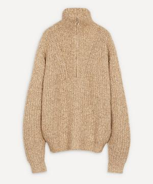Myclan Zip Fluffy Knit