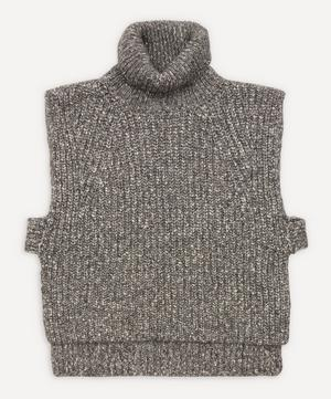 Megan Turtle-Neck Knit Vest