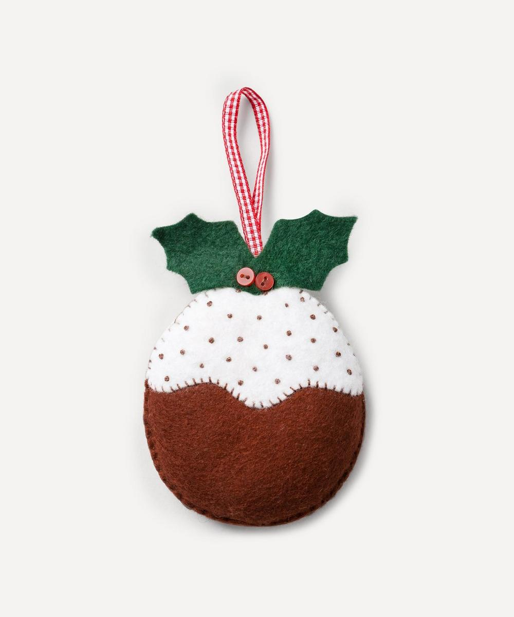 Corinne Lapierre - Christmas Pudding Felt Craft Mini Kit