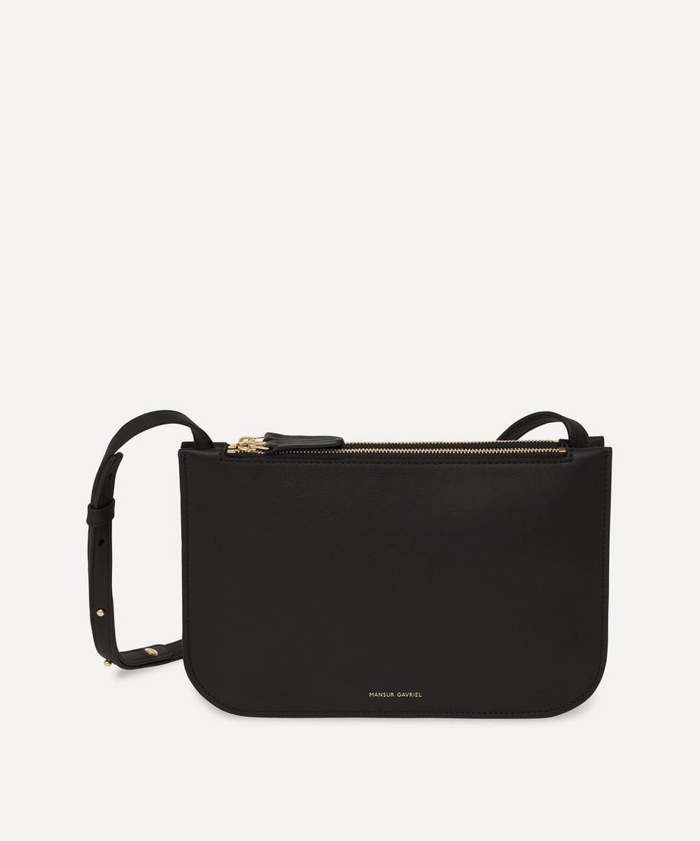Mansur Gavriel - Leather Double Cross-Body Bag