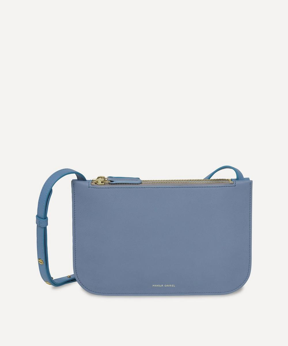 Mansur Gavriel - Leather Double Cross-Body Bag