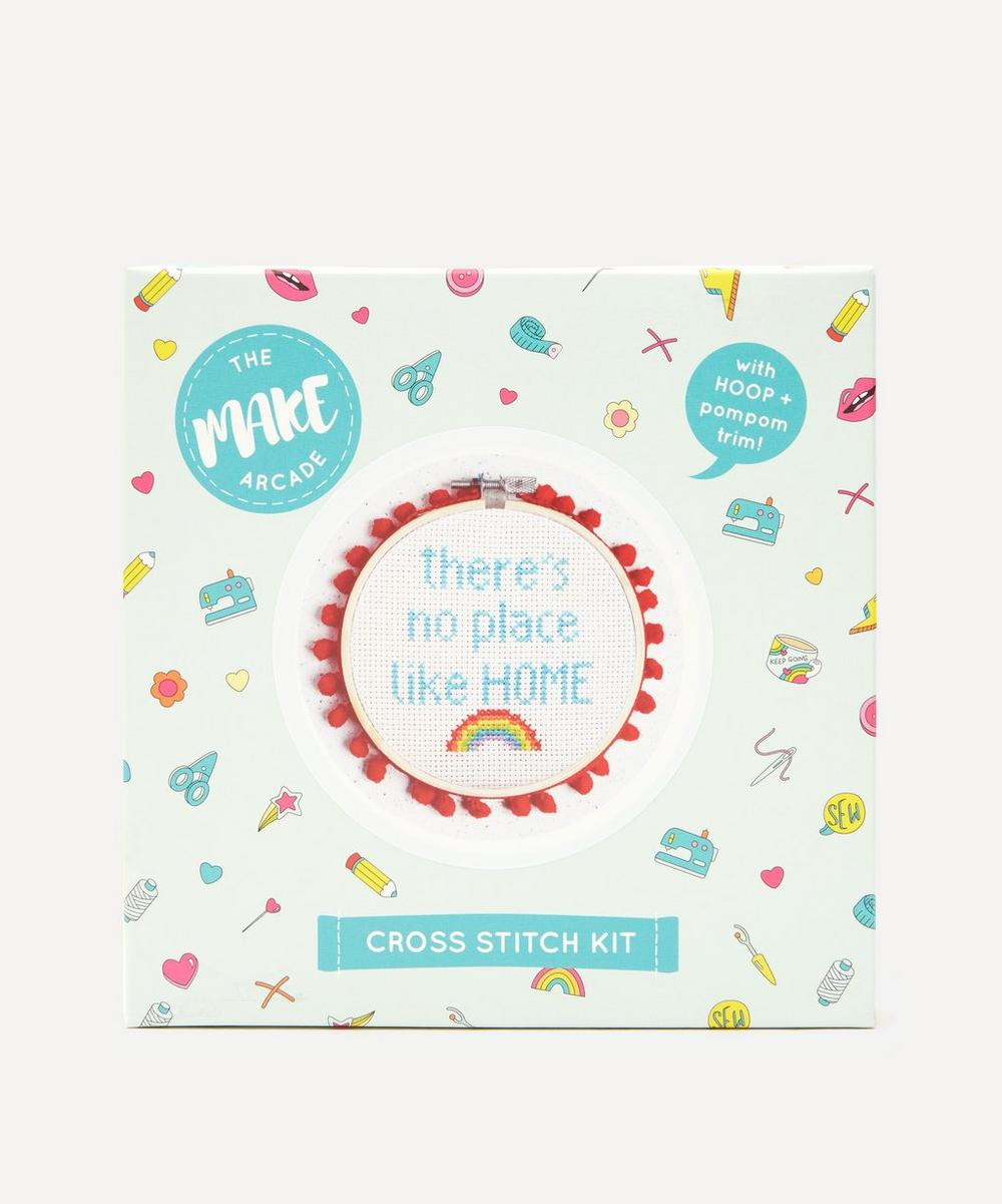The Make Arcade - No Place Like Home Midi Cross Stitch Kit