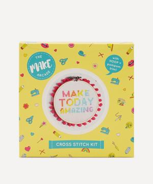 Make Today Amazing Midi Cross Stitch Kit