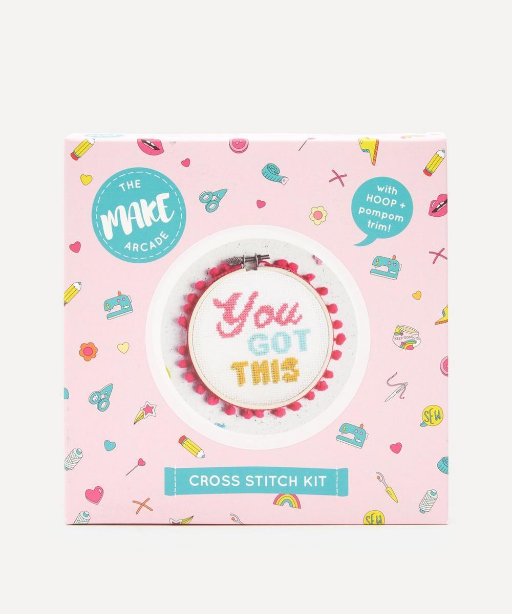 The Make Arcade - You Got This Midi Cross Stitch Kit