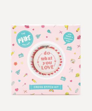 Do What You Love Midi Cross Stitch Kit