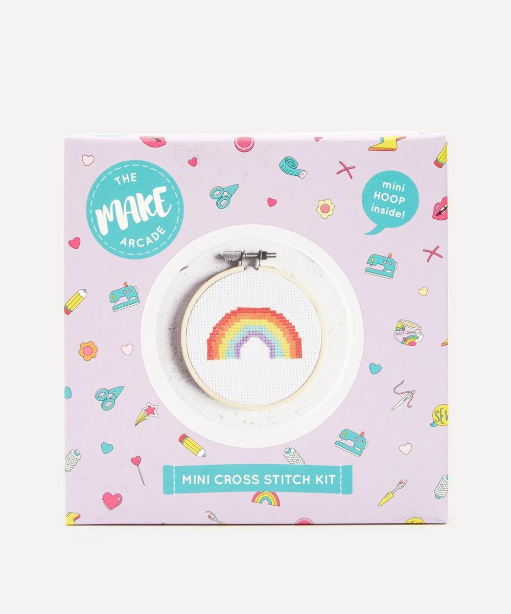 The Make Arcade - Over the Rainbow Mini Cross Stitch Kit