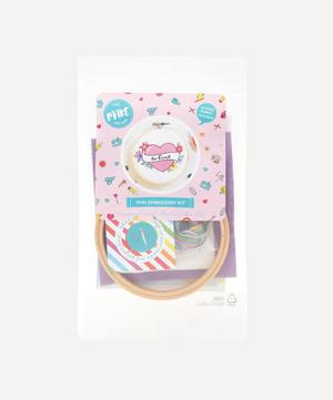 Be Kind Mini Embroidery Kit