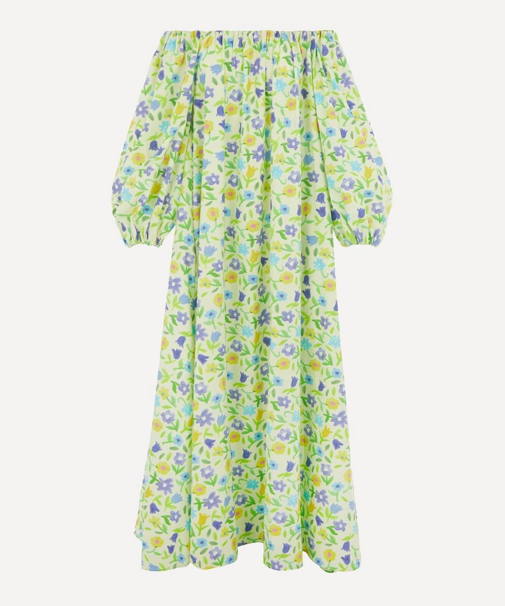 Bernadette - Bobby Cotton-Poplin Off-Shoulder Dress