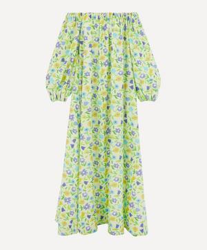 Bobby Cotton-Poplin Off-Shoulder Dress