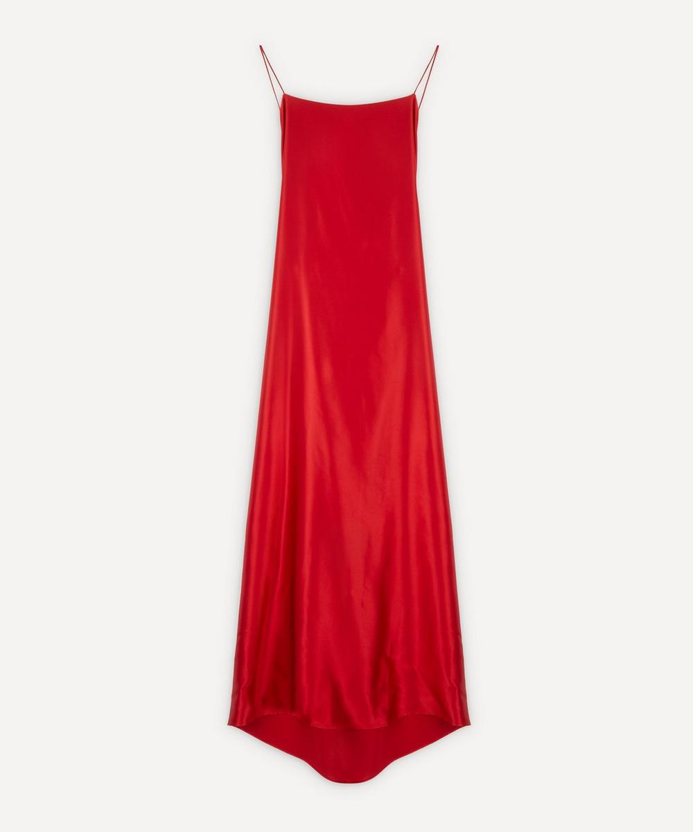 Bernadette - Meredith Silk-Satin Slip-Dress