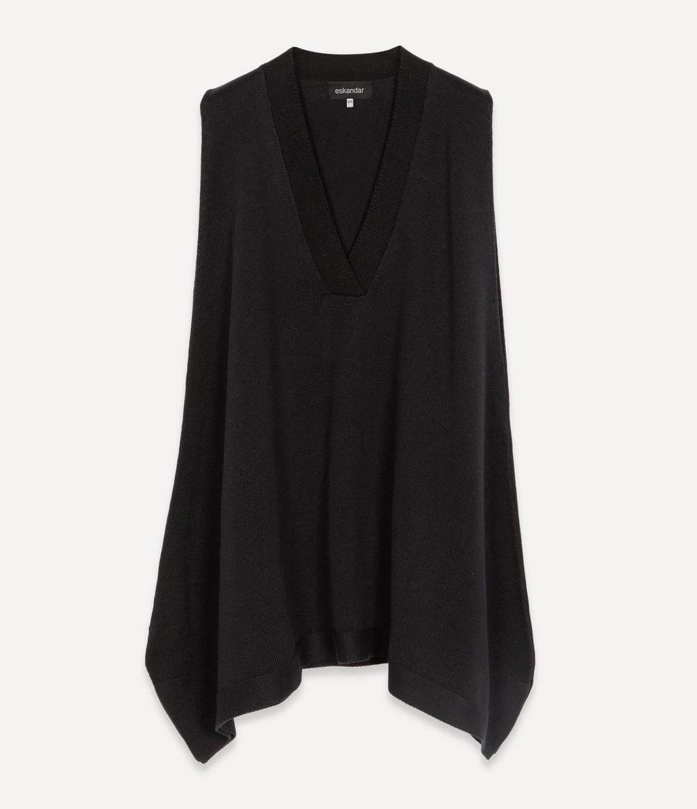 Eskandar - Sleeveless Silk Sweater