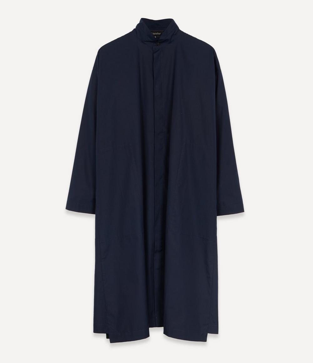 Eskandar - Slim A-Line Cotton Poplin Shirt