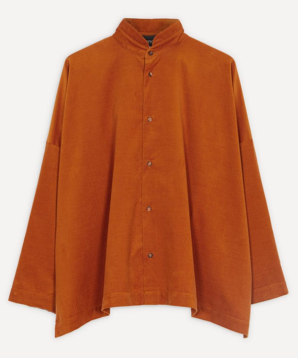 Eskandar - Fine Corduroy Shirt