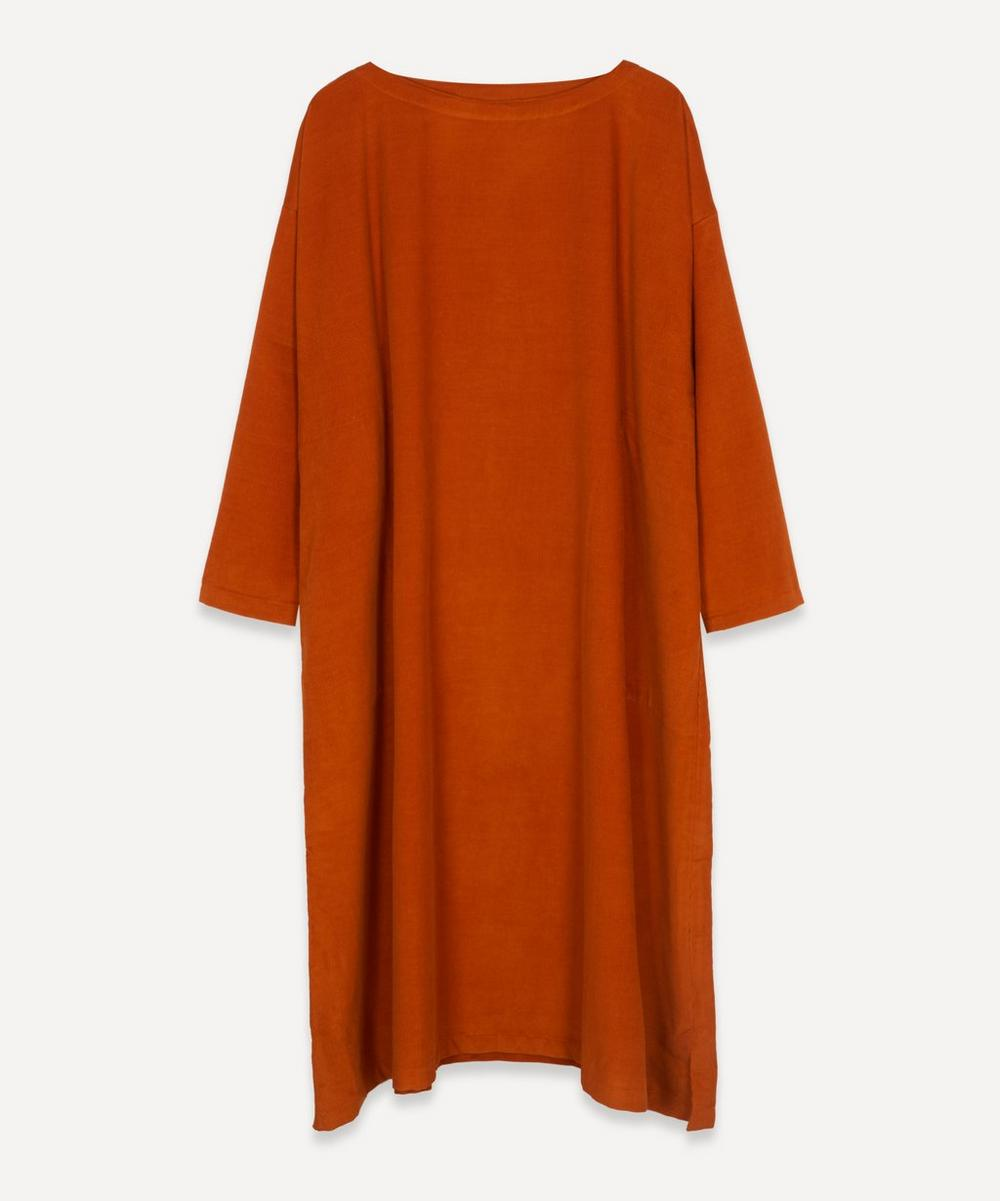 Eskandar - Scoop-Neck Small Cord Dress