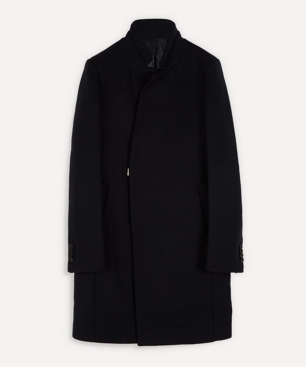 Wooyoungmi - Stand-Up Collar Side Clasp Coat
