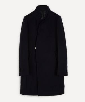 Stand-Up Collar Side Clasp Coat