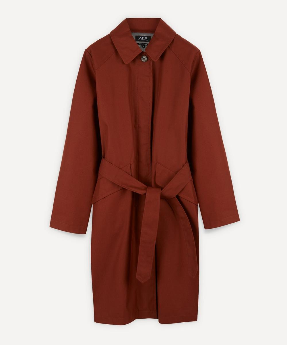 A.P.C. - Lucienne Belted Mac Coat