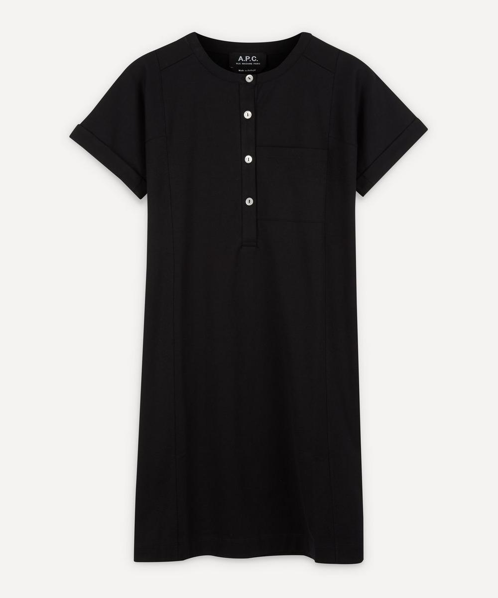 A.P.C. - Charlie Short-Sleeve Mini-Dress