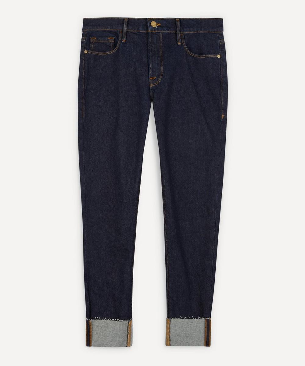 Frame - Le Garcon Mid-Rise Crop Jeans