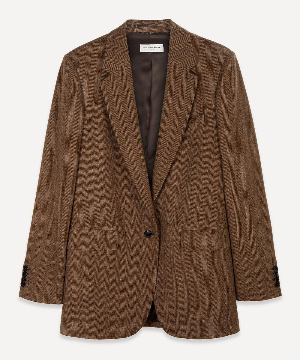 Dries Van Noten - Single-Breasted Wool Blazer