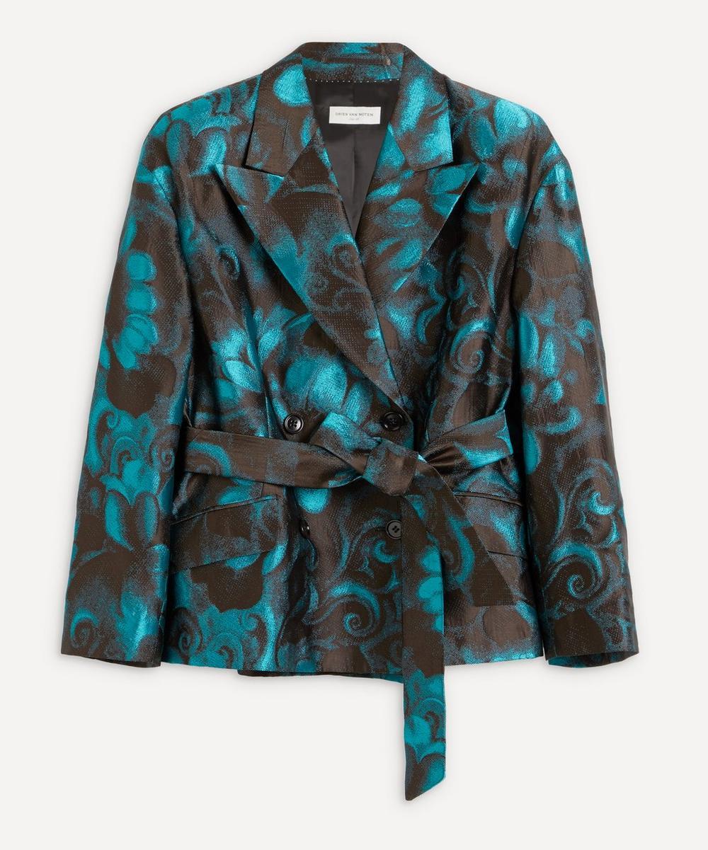 Dries Van Noten - Floral Jacquard Jacket