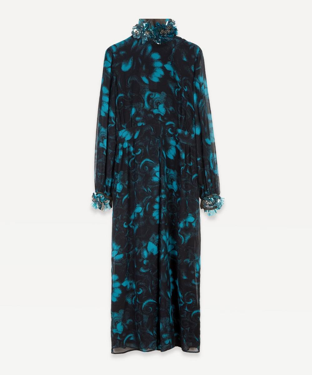Dries Van Noten - Embellished Floral Dress
