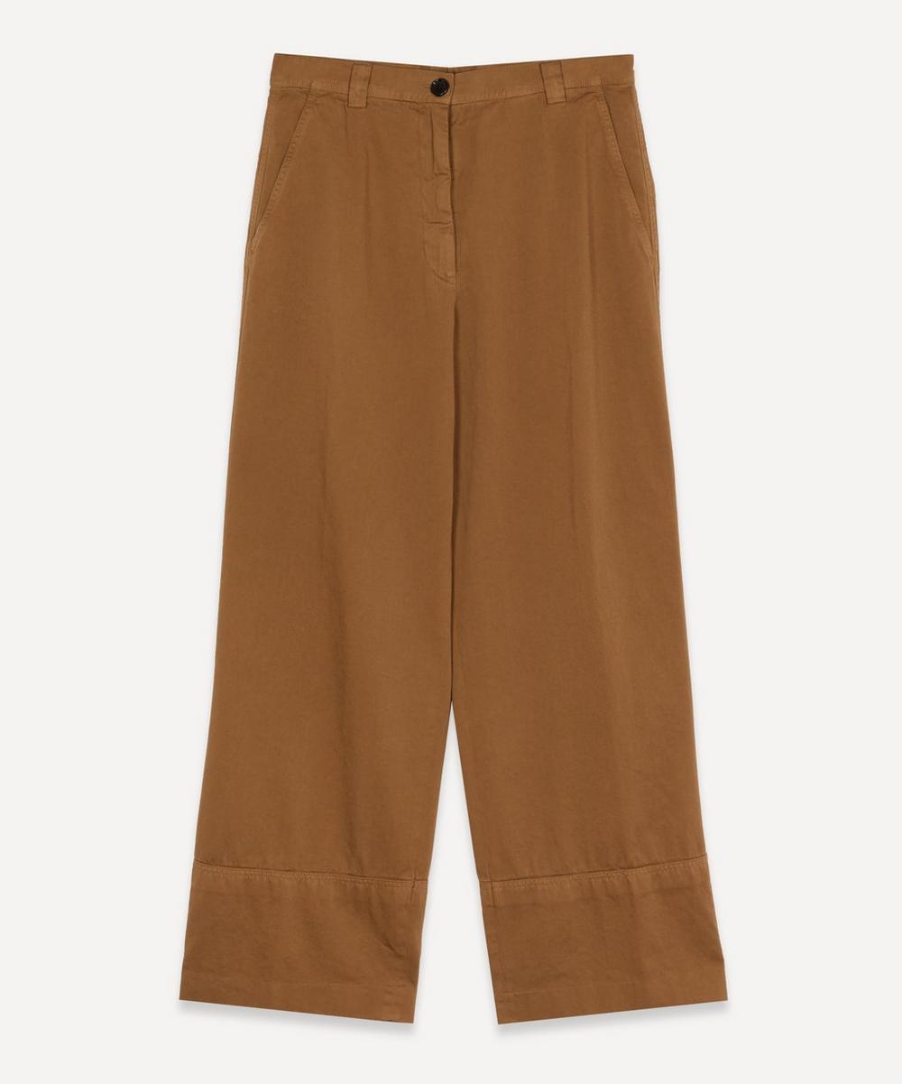 Dries Van Noten - Cropped Wide-Leg Trousers