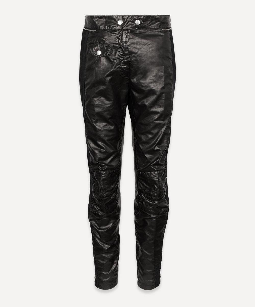 Dries Van Noten - Coated Moto Trousers