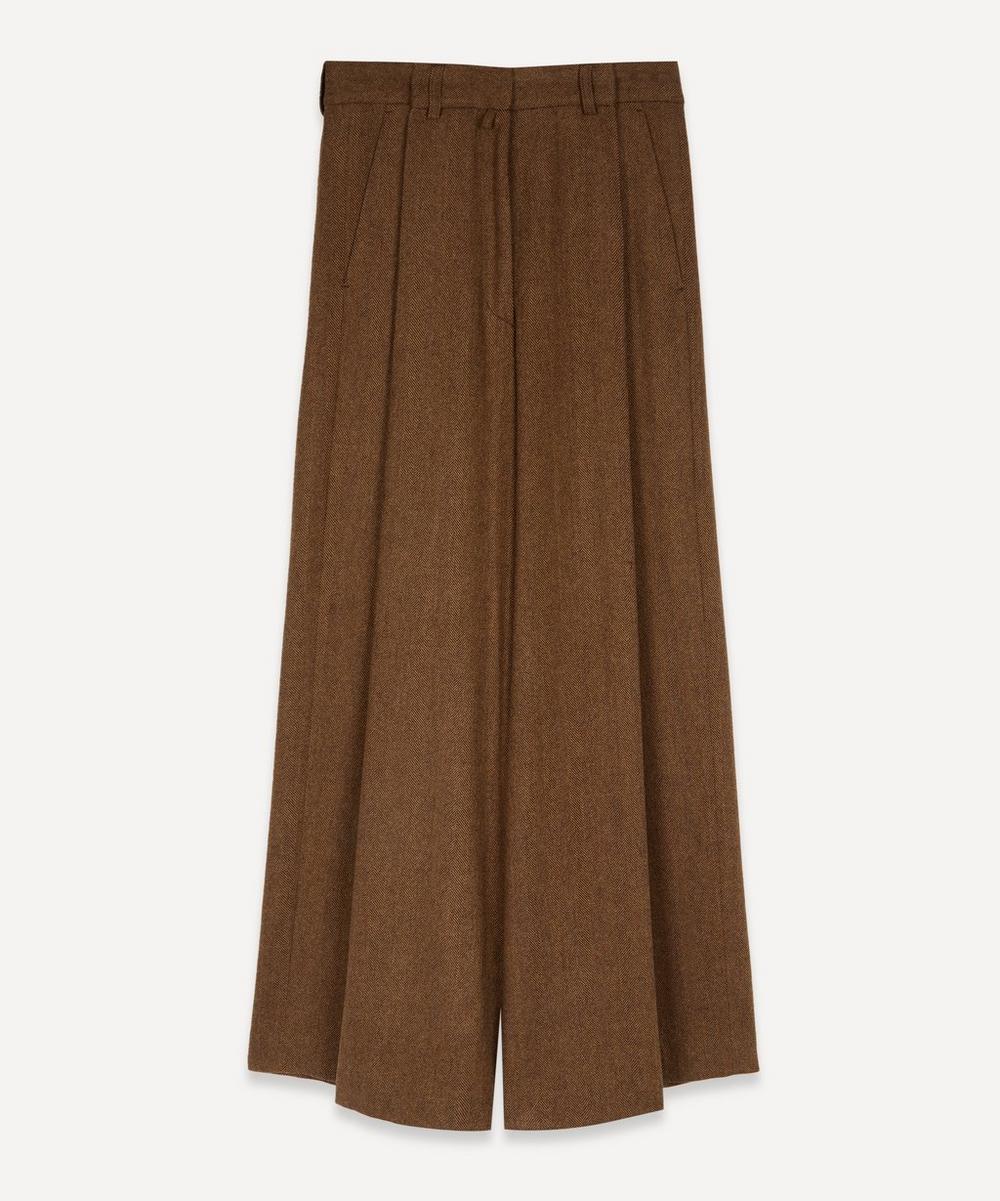 Dries Van Noten - Wool Wide-Leg Trousers