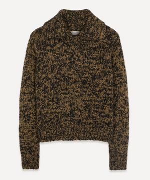Chunky Speckle Wool Knit Jumper