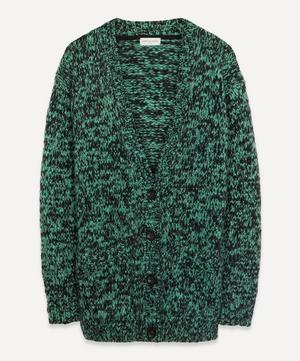 Speckle Wool Oversized Cardigan